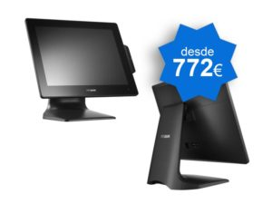 TPV Táctil POSBANK APEXA G 15″ Windows - TPV Táctil Valencia