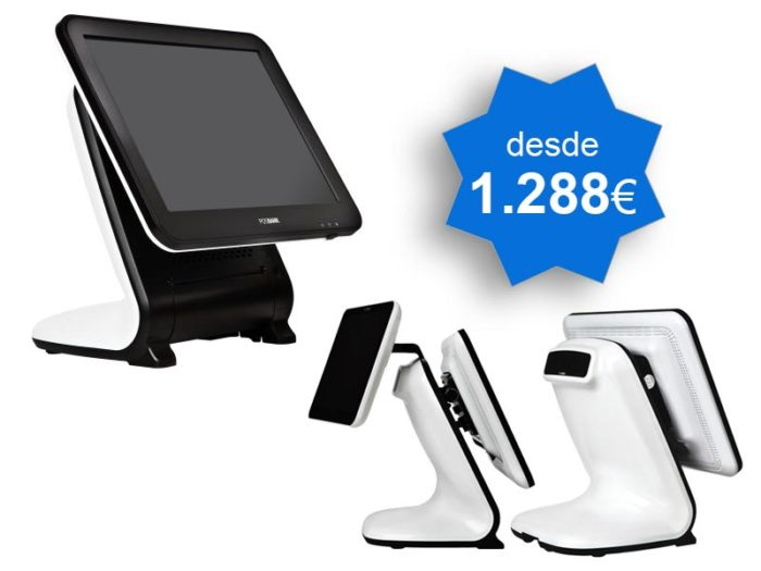 TPV Táctil POSBANK ANYSHOP E2 i5 Windows - TPV Tactil Valencia