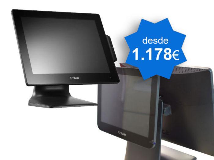 PACK TPV Tactil POSBANK APEXA G Windows - TPV Tactil Valencia
